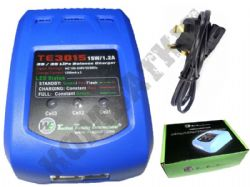 WE Airsoft Battery Charger TE3015 for 2S to 3S LiPo 2 - 3 Cells Series Balanced